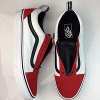 Vans Old Skool OTW Webbing Skate Shoes Skateboarding Black Red White NEW