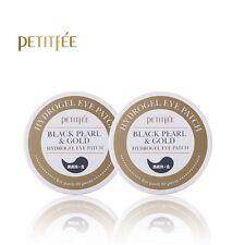 PETITFEE Black Pearl & Gold Hydrogel Eye Patch 60 pieces x 2pcs