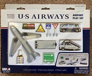 Daron US Airways Airport Play Set New