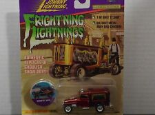 JOHNNY LIGHTNING FRIGHTNING LIGHTNINGS VAMPIRE VAN IN RED 1:64 SCALE DIECAST