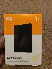 WD 1TB My Passport Portable External Hard Drive - New, Free Shipping