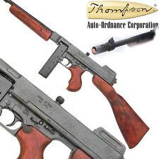 Replica M1928 Military Version Thompson Submachine Gun Non-Firing prop replica