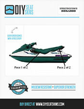 GTS GTX SEA DOO GREEN Seat Skin Cover 96 97 98 99 00 01 ~FREE MANUAL AVAILABLE!~
