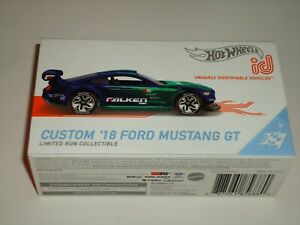 HOT WHEELS ID CAR SERIES 2 CUSTOM 18 MUSTANG GT  BOXED EXCELLENT