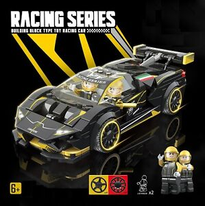City Speed Champions Super Racers Technic Car Building Blocks Toys Fits Legos