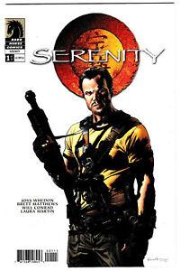 SERENITY #1 Jayne Variant Cover 1st Printing 2005 BRAND NEW
