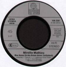 """MIREILLE MATHIEU ~ MON AMOUR (IN DEN ARMEN DEINER ZARTLICHKEIT) ~ 1984 GERMAN 7"""""""