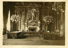 """""""CONFLIT SINO-JAPONAIS Salle du Conseil SDN"""" Photo originale G.DEVRED (Agce ROL)"""
