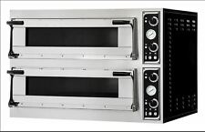 Forno elettrico n.4 teglie 60x40 oppure 8 pizze diam. 35cm.