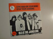 """OLA & JANGLERS: Love Was On Your Mind- Stop Your Sobbing-Sweden 7"""" 66 Gazell PSL"""