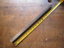 1pc Hensley E 4398 34 W X 18 L Carbide Slant Tooth Machine Keyway Broach