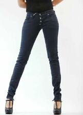 Jeans da donna blu Please Skinny
