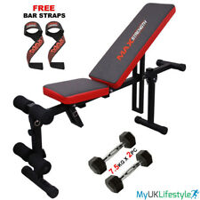 Fly Bench Abs Chest Dumbbell Weight Fitness Gym Exercise Press Benches Workout