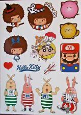 "Sticker Decal Sticker Set (228gl) "" Cartoon Mix "" - Laptop, Stickerbomb"