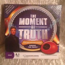 New/Sealed 'The Moment of Truth' Adult Board/Party Game 3-6 Players