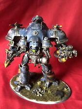 Primaris Knight Valiant War Walker Titan Very Well Painted Warhammer 40k (U353)