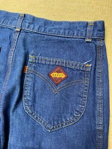 Vtg Levis Orange Tab 70s Jeans Size 31x32 Made In USA