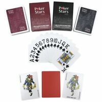Large Letters PVC Pokers Waterproof Frosting Plastic Playing Cards Board Game