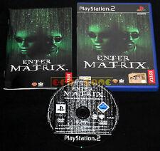 ENTER THE MATRIX Ps2 Versione Ufficiale Italiana 1ª Edizione ••••• COMPLETO