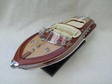 "Riva Aquarama 15"" High Quality Italian Speed Boat Cream seat L40 Metal Fittings"