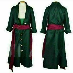 One Piece Roronoa Zoro Cosplay Costume Clothes full set