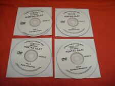 Filipino Indonesian Martial Arts Kalasag Kuntao silat 4 Dvd set