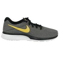 Nike Men's Tanjun Racer Running Shoes Black/Wheat Gold/White 8.5
