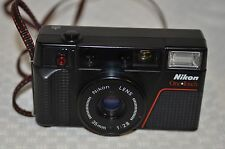 VINTAGE NIKON ONE TOUCH  AUTOMATIC FILM CAMERA 35 MM  F2.8 LENS PARTS OR REPAIR