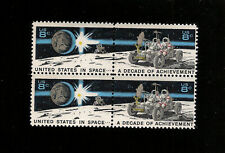 US STAMPS 1434-35 Achievement In Space Block of 4 Mint NH OG FREE SHIPPING