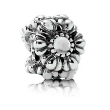 AUTHENTIC PANDORA  Birthday Blooms Charm, April, Rock Crystal - Item# 9042-3