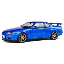 Nissan Skyline GT-R (R34) 1999 Blue 1/18 - S1804301 SOLIDO