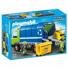 PLAYMOBIL 6110 Recycling Truck New sealed OOP