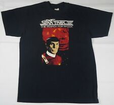 Vintage STEDMAN Star Trek III The Search For Spock T Shirt 80s 90s TV Show USA L