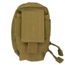 Phone Cover Camera Pocket Tactical Belt Utility Pouch Molle System Travel Coyote