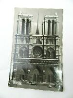 Vintage Postcard Paris  Notre-Dame Church France Chantal