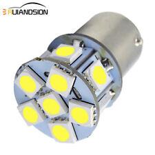 4pcs 6V Indicator Turn Signal Light 1156 BA15S 5050 12 SMD LED White Lamp Globe