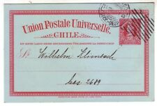 CHILE 1917 2 CTS STATIONERY CARD WITH PRIVATE PRINTING