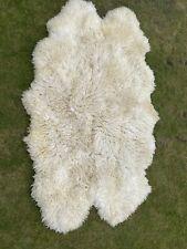 Deep Pile Sheepskin Rug Quad - Large - Australian