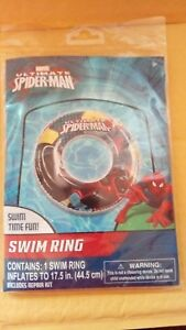 H2O GO! Marvel Ultimate Spider-Man Swim Ring Age 3+