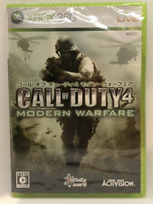 Call of Duty4 Modern Warfare Xbox 360 New Factory Sealed Activision NTSC-J Japan