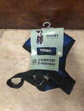 New listing Gooby Comfort X Dog Head-in Harness Blue Medium X-Harness