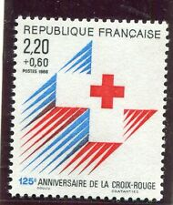 FRANCE TIMBRE NEUF  N° 2555  **  EMBLEME  CROIX ROUGE