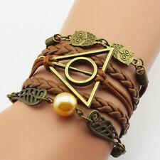Harry Potter Golden Snitch Deathly Hallows Owl Branded Bracelet Jewellery Gift