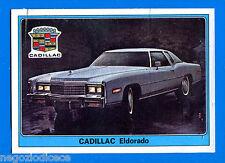 SUPER AUTO - Panini 1977 -Figurina-Sticker n. 75 - CADILLAC ELDORADO -Rec