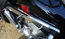 #142 HONDA 750 ACE SHADOW CHROME REAR FENDER SPIKES chopper bobber vt750 98-03