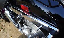 #142 HONDA 750 ACE SHADOW CHROME REAR FENDER SPIKES chopper bobber vt750 98-03