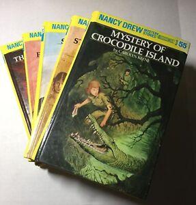 5 Nancy Drew Mystery Stories Set of Books #51, 52, 53, 54, 55 2000