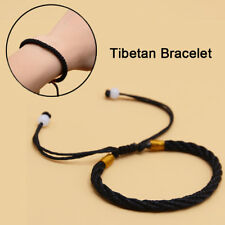 Handmade Tibetan Buddhist Braided Bracelet Lucky Knot Rope Men Women Gifts