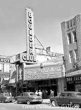 The Boulder Club, Las Vegas, Nevada - 1940s - Vintage Photo Print