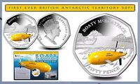 2018 50P COIN BOATY McBOATFACE UNCIRCULATED FIFTY PENCE LIMITED Mc BOAT Face @